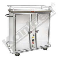 Hot Food Tray Trolley For Hospital Food Service