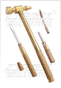 5 in 1 Brass Hammer