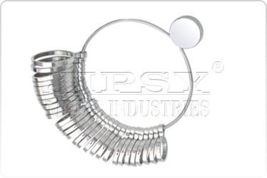 1 to 15 Nickel Ring Sizer US standard (Slim Type)