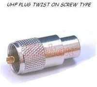 Brass UHF Connectors & Adaptors