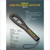 Hand Held Metal Detector