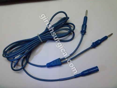 Bipolar Laparoscopy Forceps Cable Cord