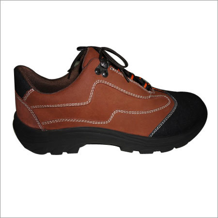 Brown Sports Leather Shoes