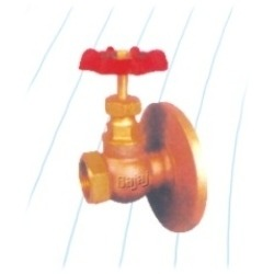 Bronze Wheel Valves Mixed Ends
