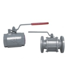 Cast Iron Ball Valve (Screwed & Flanged Ends)
