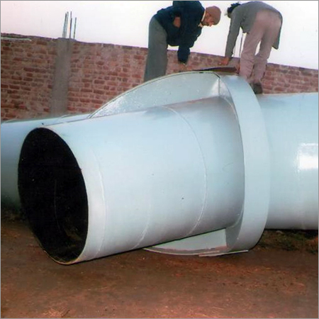 Fabrication of Y-Piece (Penstock Component)