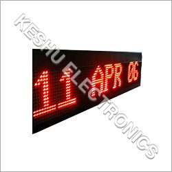 Moving Message Display