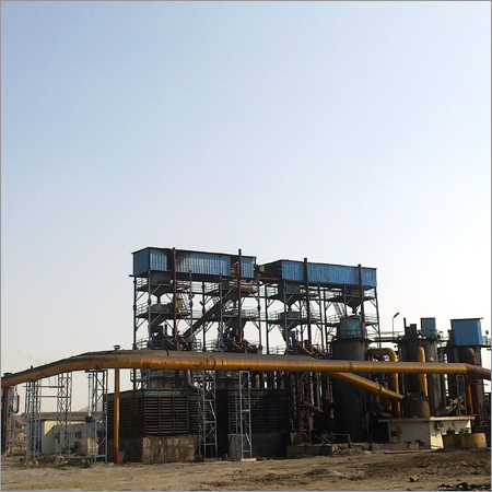 Industrial Gas Producer Plant