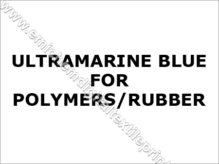 Ultramarine Blue for Polymers Rubber