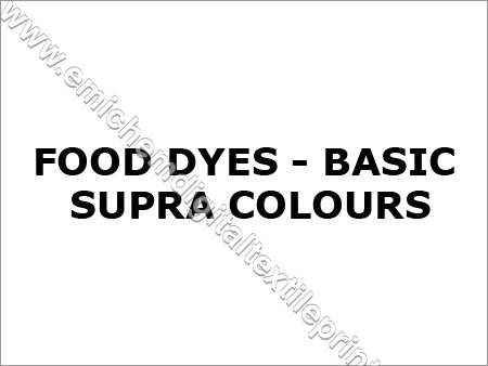 Food Dyes & Colours