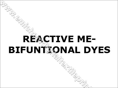 Reactive ME-Bifunctional Dyes
