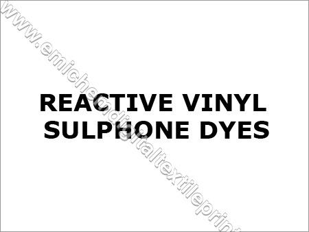 Reactive Vinyl Sulphone Dyes