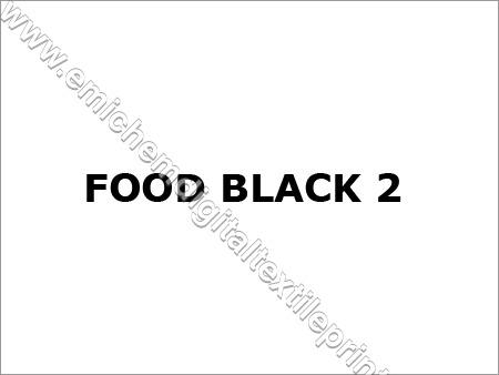 Food Black Dyes