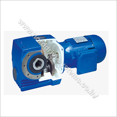 Unicase Helical Worm Gear Motors