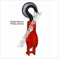 Single Sheave pulley closed type