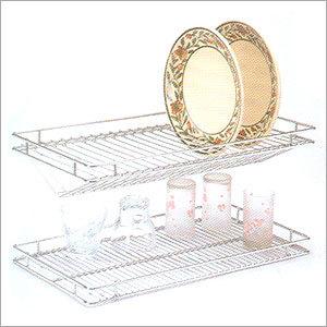 Stainless Steel Glass Rack & Plate Rack