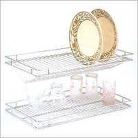 Stainless Steel Glass Rack & Plate Rack