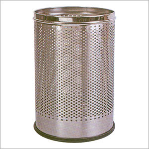 Perforated Waste Bin