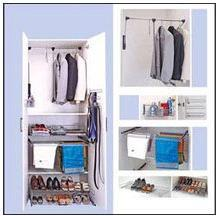 Wardrobe Unit with Drawer