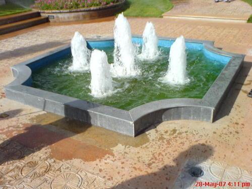 Ring Foam Fountains