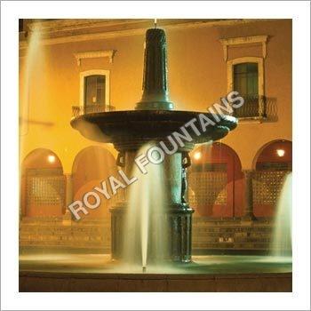 Puebla Colonial Fountain
