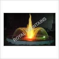 Ring Fountain with High Foam Jet