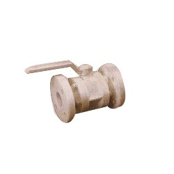 P.P.Ball Valve Flanged End