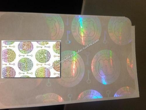 Holographic ID Card Overlay (Seal of authenticity)