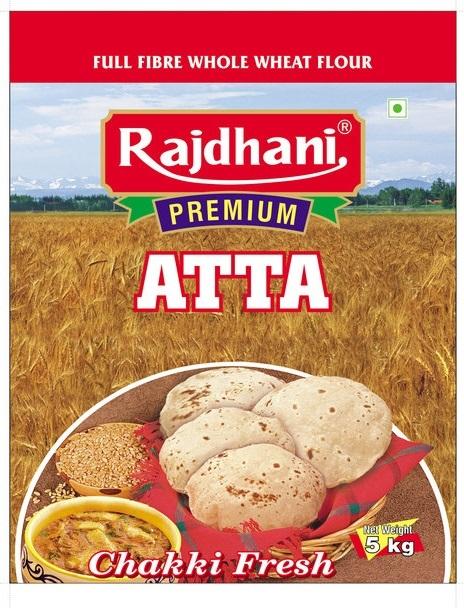 5 Kg Wheat Atta Pack