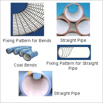 Alumina Ceramic Lined Coal Pipe Lines