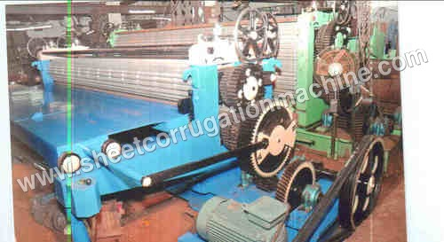Galvanized Sheet Corrugation Machines
