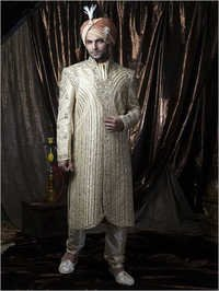 Kashmiri Embroidered Sherwani
