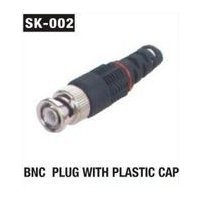 BNC Plug With Plastic Cap