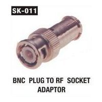 BNC Plug To RF Socket Adaptor