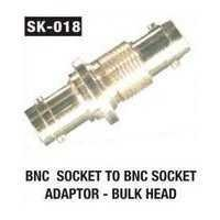 BNC Socket To BNC Socket Adaptor - Bulk Head