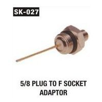 F Socket Adaptor(5 - 8 Plug )