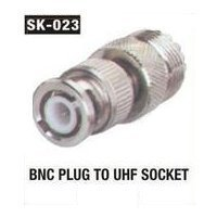 BNC Plug To UHF Socket