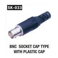 BNC Socket Cap Type with plastic Cap