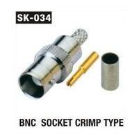 BNC Socket Crimp Type