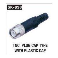 TNC Plug Cap Type With Plastic Cap