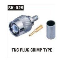 TNC Plug Crimp Type