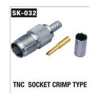 TNC Socket Crimp Type