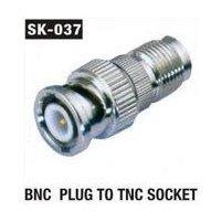 BNC Plug To TNC Socket