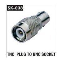 TNC Plug To BNC Socket