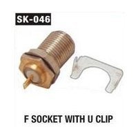 F Socket with U Clip