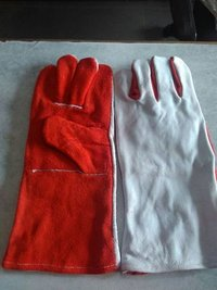 Heavy Heat Resistance Leather Hand Gloves