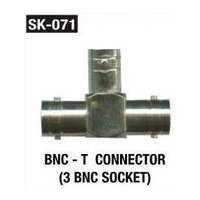 BNC T Connector (3 BNC Socket)