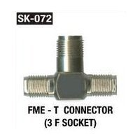 FME T Connector (3 F Socket)