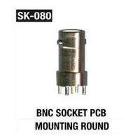 BNC Socket PCB Mounting Round