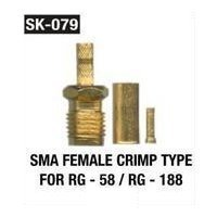 SMA Female Crimp Type For RG 58 RG 188